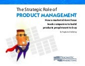 Strategic role product_management