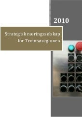 Strategisk næringsselskap for Troms...