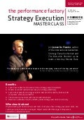 Strategy Execution Master Class by Jeroen De Flander