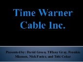 Time Warner Cable Strategy