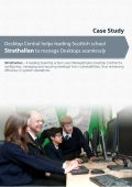 ManageEngine Desktop management - Strathallan school   case study