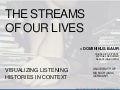 The Streams of Our Lives - Visualizing Listening Histories in Context