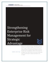 Strengthening ERM For Strategic Adv...