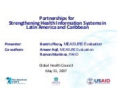 Strengthening his in lac global hea...