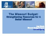 Strengthening Resources For Missour...