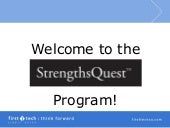 Strengths Quest Session