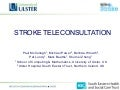 Stroke Teleconsultation - Paul McCullagh