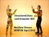 Structured Data and Semantic SEO