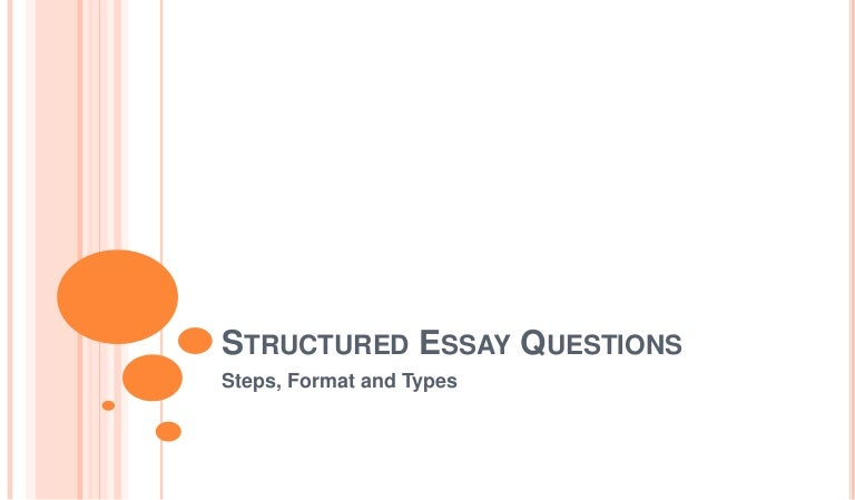 table of contents for essay