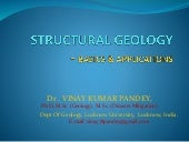 Structure geology   basics and appl...
