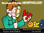 Structure of words: MORPHEMES