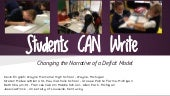 Students can write   NCTE 2014