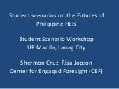 Student Scenarios on the Futures of...