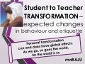 Student to Teacher Transformation