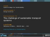 Studer   the challenge of sustainab...