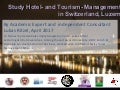 study Hotel Management & Tourism in Switzerland