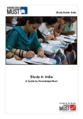 Study in India - A Guide by Knowled...
