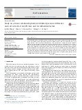 Study on a linear relationship between limited pressure difference and coil current of on off valve and its influential factors