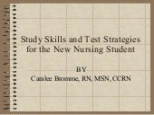 NurseReview.Org - Study Skills and ...