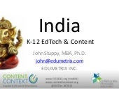 Stuppy India: Content in Context (CIC) -- International Markets Forum