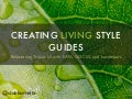 Creating Living Style Guides to Improve Performance