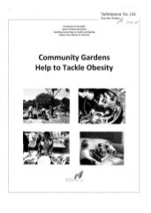 Community Gardens Help to Tackle Ob...