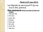 Subjunctive march 2012