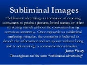 Subliminal Images