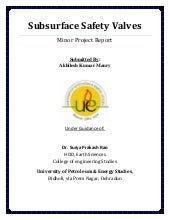 Subsurface safety valves
