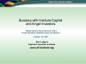 Success With V Cs And Angels (10 22...