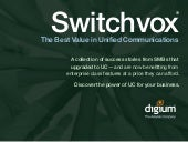 Switchvox - The Best Value in Unifi...