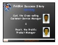 PAKRA Success Story: helping Carl the Cross-Selling Customer-Service Manager to teach and train both new and experienced employees