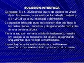 Sucesion Intestada Civil