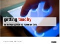 Getting touchy - an introduction to touch events / Sud Web / Avignon 17.05.2013