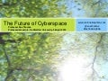 [with audio] Technobiophilia: Sue Thomas, The Future of Cyberspace, Professorial Lecture, De Montfort University, 26 April 2012