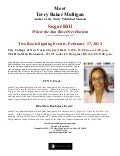 Sugar Hill Readings Flyer 2 12c
