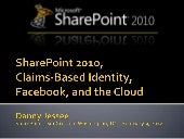 SharePoint 2010, Claims-Based Iden...