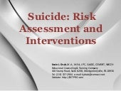 Suicide Risk Assessment and Interve...