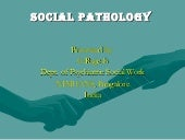 Suicide And Social Pathology