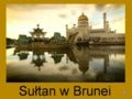 Sultan w Brunei / Sultan of Brunei