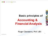 Summary accounting seminar
