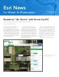 Esri News for Water & Wastewater -- Summer 2012