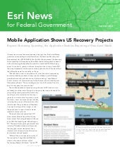 Esri News for Federal Government --...
