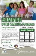 Summer feeding program2012