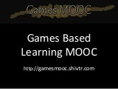 Overview of Summer Games MOOC