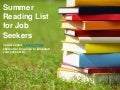 Summer Reading List for Job Seekers