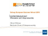 Solvay Summer School 2010 - Part 2:...