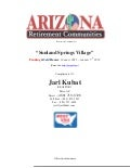 Sunland Springs Village   Market Update January 2012