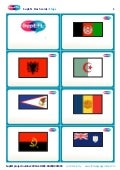 SupEFL flashcards: flags (no text)