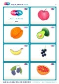SupEFL flashcards: fruit